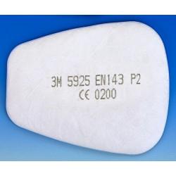 Filtr przeciwpyłowy klasy P2S 3M 5925
