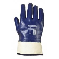 Rękawice powleczone Nitrylem z bezpiecznym mankietem PORTWEST A302