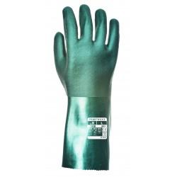 Dwuwarstwowe rękawice z PVC 35cm PORTWEST A835