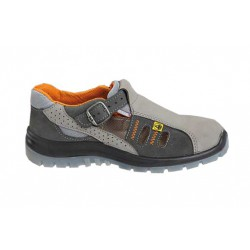 Sandały bezpieczne z metalowym podnoskiem PPO Model 281, S1,