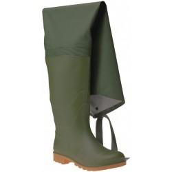 Buty wędkarskie PVC zielone 06350