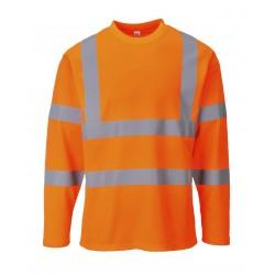 T-shirt ostrzegawczy z długimi rękawami PORTWEST S278