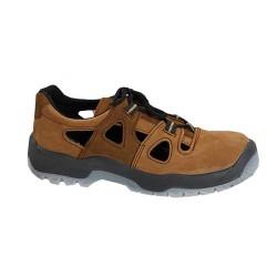 Sandały bezpieczne z wkładką antyprzebiciową PPO wzór 521 N , S1P