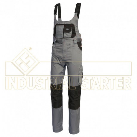 Spodnie ogrodniczki Stretch 8735 ISSA