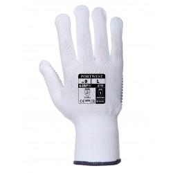 Rękawica Polka nylonowa, nakrapiana - PVC PORTWEST A110