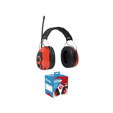 PIT-RADIO NAUSZNIKI PRZECIWHAŁASOWE Z SYSTEM STEREO - SNR 28 dB