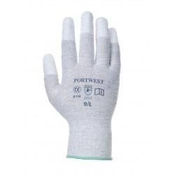 Rękawice antystatyczne z palcami powlekanymi PU PORTWEST A198