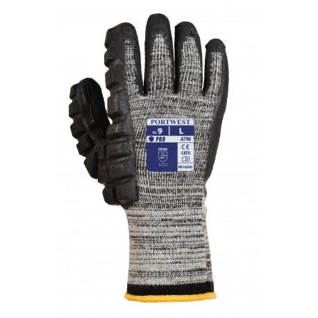 Rękawica chroniąca przed uderzeniami młotkiem (Prawa) - Lateks  PORTWEST A795