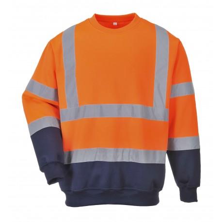 Dwukolorowa bluza ostrzegawcza  PORTWEST B306