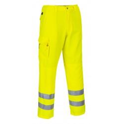 Spodnie bojówki ostrzegawcze PORTWEST E046