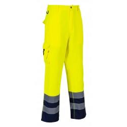 Spodnie ostrzegawcze, dwukolorowe PORTWEST E047