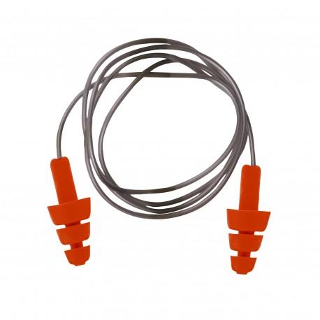Zatyczka TPE wielokrotnego użytku ze sznurkiem PORTWEST EP04 opak. 50 par