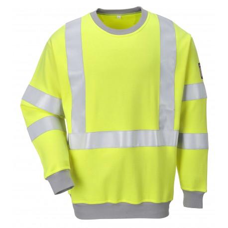 Bluza trudnopalna, antystatyczna i ostrzegawcza PORTWEST FR72