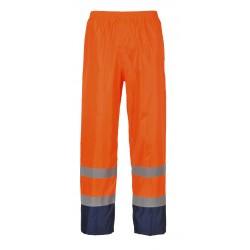Klasyczne spodnie przeciwdeszczowe, ostrzegawcze i kontrastowe  PORTWEST H444