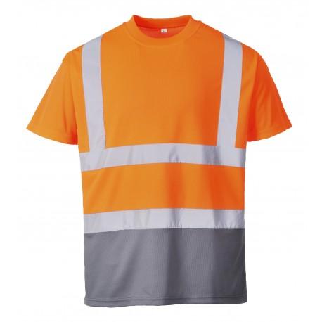 T-shirt dwukolorowy PORTWEST S378