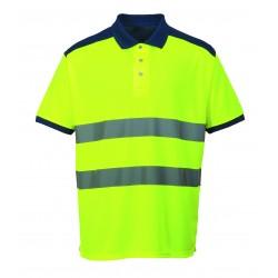 Ostrzegawcza koszulka Polo PORTWEST S379