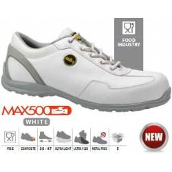 Buty ochronne białe MILK S2 SRC